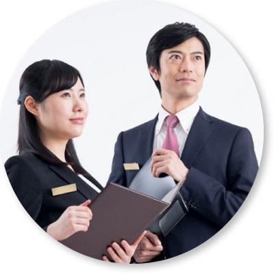 経験豊富なスタッフが成婚までサポート